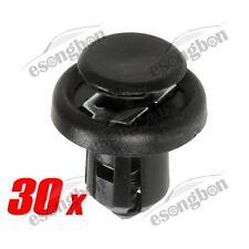 30 x For Honda Acura Nylon Front Bumper Metal Clips Retainer 20x13x10mm