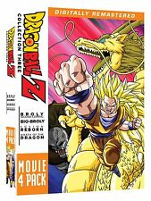 Dragon Ball Z Remastered Movie Collection 3 Volume 10, 11, 12 & 13 DVD Box Set