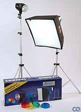 Kenro Compacto Studio Flash Kit De Iluminación-professioanl