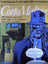 Corto Maltese 8 1989 Milo Manara Viaggio a Tulum- Frank Miller [G.142]