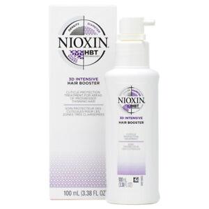 Nioxin 3D Intensive Hair Booster 3.38oz w/Free Nail File