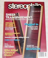 Stereophile Vol. 20 #5 May 1997 Krell KRC-3 Magnum Dynalab California Audio Labs
