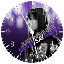Justin Bieber Frameless Borderless Wall Clock Nice For Gifts or Decor W76