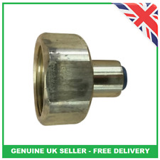 More details for 3 x genuine zip tap hydrotap g3 g4 1/4 to 1/2 bsp solenoid connection adaptor