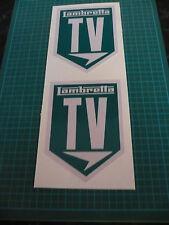 Lambretta TV Scooter stickers