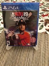 RBI BASEBALL 19 R.B.I. (Sony PlayStation 4, 2019, PS4) NEW SEALED