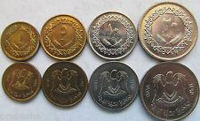 Libya set of 4 coins 1975 (1+5+10+20 Dirham) UNC