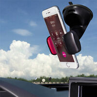Vehicle-mounted Car Phone Holder With Suction Cup 360Degree Rotation UniversaFO