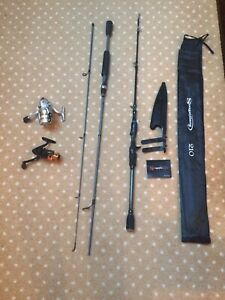 HUGE LOT REELS RODS COMBOS BAITCASTING SPINNING DAIWA ICE FISHING EAGLE CLAW NEW