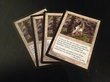 MTG MAGIC STRONGHOLD SACRED GROUND (FRENCH SOL SACRE) NM X4