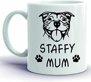 CiderPressMugs® Staffy Mug Staffy Mum Pet Present Dog Lover Staffordshire Bull