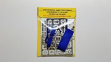 AMG SEAT BELT FOR 1/12 SCALE AMF-018 B (BLUE)) N/ MG MODEL TAMIYA PROTAR MFH