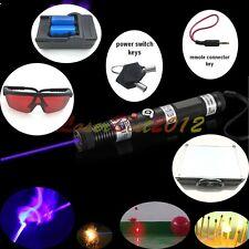 SKY-SBX1 445nm Blue Laser Pointer Burn Matches Light Cigarettes pop balloons