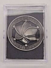 """Defiance TV Show - Lawkeeper Badge Pewter Toned Metal 2½"""" - reproduction"""