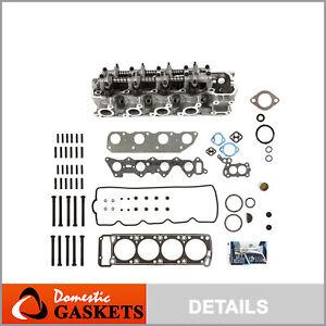Complete Cylinder Head Bolts Gasket Set fit 83-89 Chrysler Mazda Mitsubishi 2.6