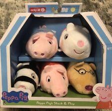 New Peppa Pig's Stack Play - Peppa Pig, George Pig, Sheep, Pony and Zebra Plush