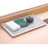 Plastic Worktop Tray Dish Drainer Drip Kitchen Sink Drying Rack Holder Jian