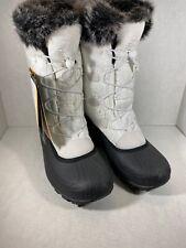 Kamik Womens Momentum White Boots Size 6 Nk2350 (m108)