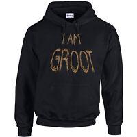 611 I am Groot Hoodie super hero comic cosplay funny new galaxy star new retro