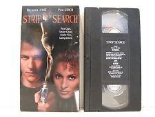 Strip Search VHS (1997) Action Michael Paré Pam Grier  Lucie Laurier