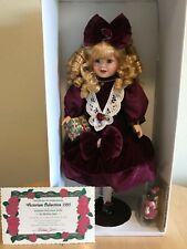 Victorian Collection genuine porcelain doll- Brand New