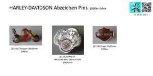 HARLEY DAVIDSON Chopper / Logo lapel Pins AUSSUCHEN