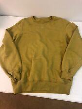 rick owens drkshdw/unisex Sweatshirt/gold Yellow Mustard/small