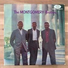 The Montgomery Brothers - 1964 Mono Vinyl LP - Good (G+/VG) - LAE566