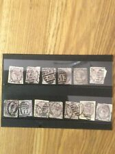 Queen Victoria stamps a job lot of Victorian stamps, various areas