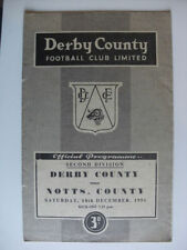 Division 2 Teams C-E Derby County Football Programmes