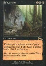 Subversion ~ Heavily Played Urza's Legacy UltimateMTG Magic Black Card