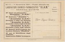 GENOVA QUINTO - LABORATORI CHIMICO FARMACEUTICI S.I.A.M.