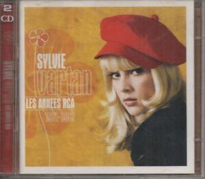2 CD. Sylvie VARTAN. LES ANNEES RCA : 1961-1983.  Johnny HALLYDAY, GAINSBOURG