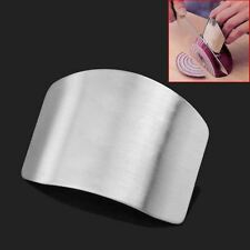Stainless Steel Finger Hand Protector Guard Chop Safe Slice Knife Kitchen Home