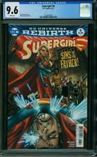 SUPERGIRL 6 CGC 9.6 Superman Steve Orlando Brian Ching 2017