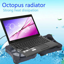 Mini USB Port Cooling Pad With 2 Fans Cooler for 7-15 Notebook Laptop F5