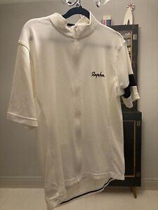 Rapha White Cycling Jersey XL
