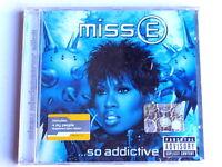 MISSY ELLIOTT  -  MISS E ...SO ADDICTIVE  -  CD 2002  NUOVO E SIGILLATO
