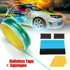 New Listingcar Knifeless Tape Squeegee Car Vinyl Wrapping Film Cutting Line Accessories