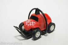 PLASTIC TOMY JAPAN VW VOLKSWAGEN BEETLE KAFER RED EXCELLENT CONDITION