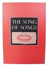 """Michael Rothenstein """"La chanson de chansons, qui est de Salomon"""" 9 estampes, signé Set"""