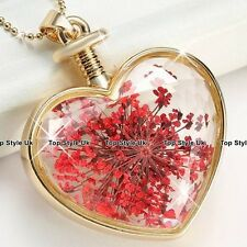 Christmas Gifts for Her Ruby & Gold Necklace Niece Girlfriend Wife Daughter J450