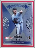 "Andy Pettitte / Hideki Irabu Donruss Limited Leaf ""Double Team"" 1997 N.Y Yankees"
