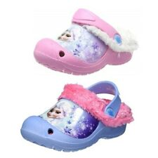 Disney Frozen Eiskönigin Hausschuhe Schuhe gefüttert pink blau Kinder 22 26
