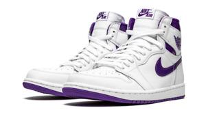 Nike Air Jordan 1 Retro High OG Court Purple Size 9.5 Women / 8 Men's CD0461-151