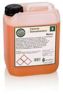 Caravan-Shampoo NANO Caravanreiniger - 5 Liter Konzentrat mit Abperl-Effekt !!!