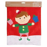 Giant Christmas Santa Sack 90cm x 60cm Xmas Gift Present Felt Stocking Bag ELF