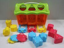 Playgo Toys Shape and Lock Barn Color Dexterity Development