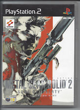 METAL GEAR SOLID 2 SONS OF LIBERTY for Playstation 2 PS2 - with bonus dvd - PAL