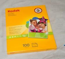 Kodak Photo Paper 8.5X11 Gloss 100 Sheets ! S499